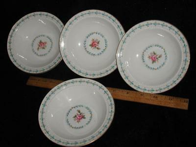 4 HALL CHINA HARMONY HOUSE MOUNT VERNON Berry Dessert Bowls    c