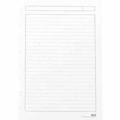 """M by Staples™ brand Arc System Refill Paper, White, 5-1/2"""" x 8-1/2"""" (25181)"""