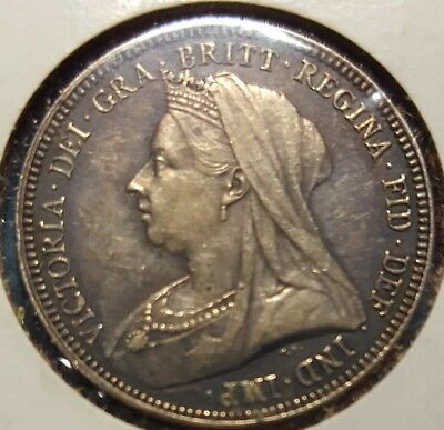 1893 Great Britain One Shilling Silver Coin KM# 780