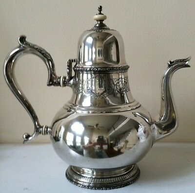 Lunt Sterling MARY II Teapot RARE!!!!