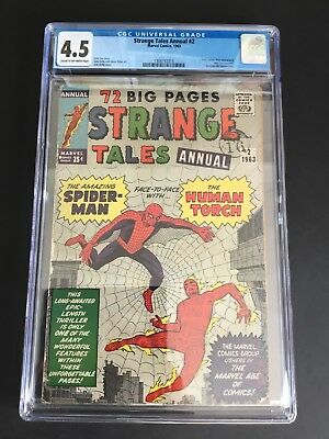 Strange Tales Annual #2 (1963) Cgc 4.5 Early Spider-Man