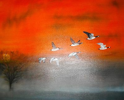 Large Original Oil Painting on canvas direct from the artist Kevin Richards