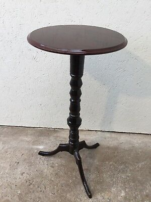 Lovely  Antique Georgian Mahogany Carved Round Wine Table