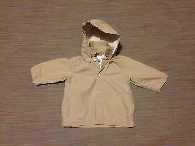 BABY GAP JACKET. SIZE 6-12 Months. HOOD