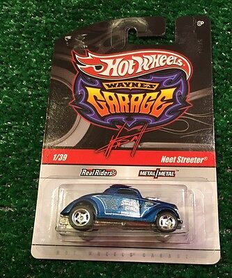 Hot wheels custom neet streeter w real riders 1 64 cad for Garage neet