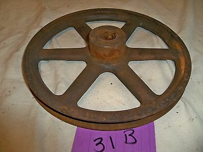 "Vintage Browning AK84X3/4 3/4"" Bore V-Belt Pulley Industrial Gear"