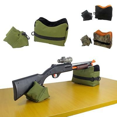 Tactical Shooting Front & Rear Bench Rest Bags Range Target Hunting Sand Bag
