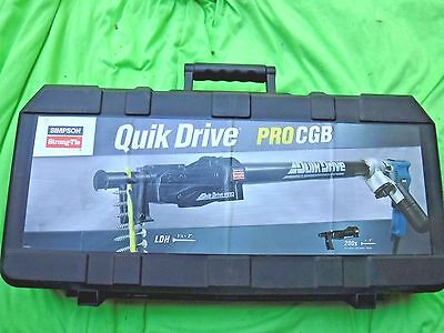 Simpson Strong Tie Quikdrive Pro Cgb Makita Kit Brand New, Incomplete Procgbm25K
