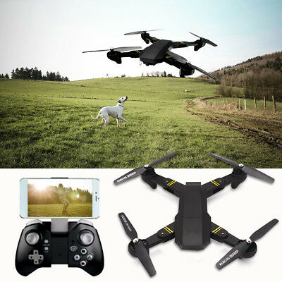 XS809W  VISUO Upgraded Version 2.4G Foldable RC Quadcopter Wifi FPV Selfie Drone