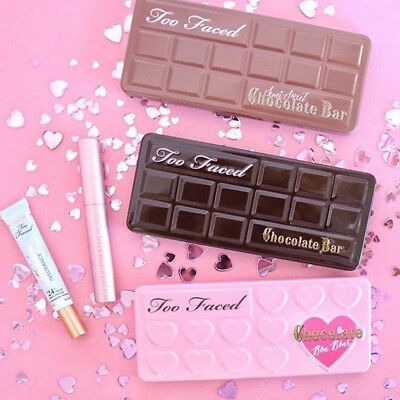 Face Eyeshadow Palette Sweet Peach & Semi-Sweet Chocolate Bar & Chocolate Bons