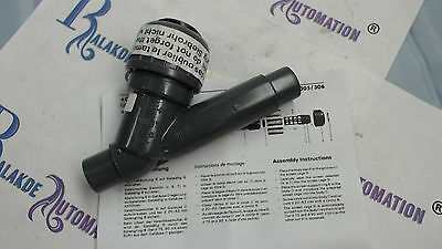 +GF+ georg fisher Angle seat valve 161 303 006 d20dn15 type 303