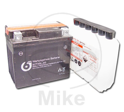 Batterie Acide 6 On Ytx5L-Bs Sotx5L-Bs 50412Lf  7079130 Garantie 2 Ans