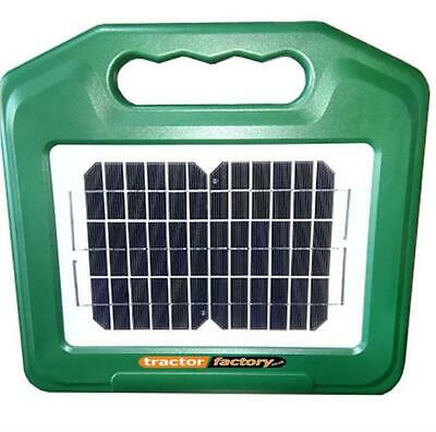 Solar Power Electric Fence Energiser With Battery - 7Km High Power!