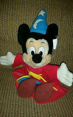 "Disney Wizard  Mickey Mouse Plush  8""  Mouseketoys with tag new"