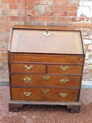 A Good Antique Country Oak Writing Bureau Desk-Free Delivery 30 Mile Radius
