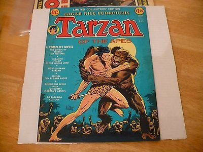 Dc Limtd Collector Edit #c-22 -Tarzan Of The Apes By Joe Kubert! -7.0 Fn/vf-1973