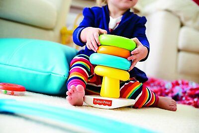 Baby Stacking Toy Toddler Developmental Learning Toys Kids Basic Rock-A-Stack
