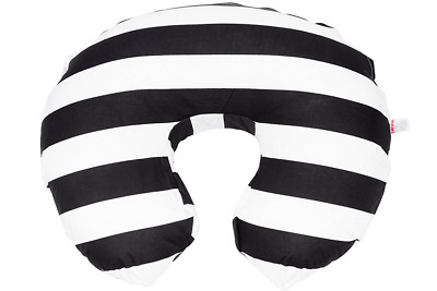 Danha Nursing Pillow Slipcover (black & white stripe)