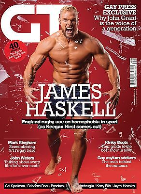 Gay Times Magazine Gt 450 Sep 2015 James Haskell John Waters Grant Rocky Horror