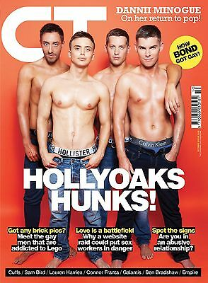 Gay Times Magazine Gt 451 Oct 2015 Hollyoaks Connor Franta Dannii Minogue