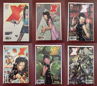 Marvel Next Comics X-23 Origin Complete NM! #1,2,3,4,5,6! 2005 1st Prints! #1-6