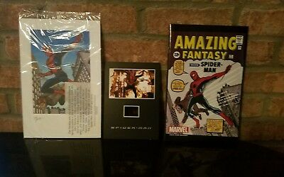 Amazing Fantasy #15 Comic Spider-Man 2002 REPRINT, Lithograph, and Senitype