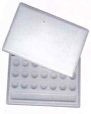 Ceramic Mixing Palette - Large 21 wells with lid - Watercolour Ink : FC7-407-28