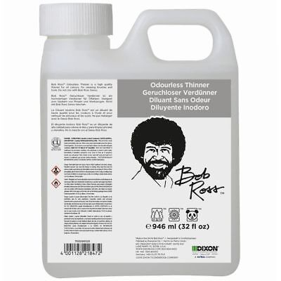 Bob Ross  -  Odourless Thinner - 946ml ( 0.946 Litre )