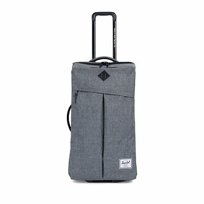 Herschel Supply Co. Parcel Luggage in Raven Crosshatch Free Shipping