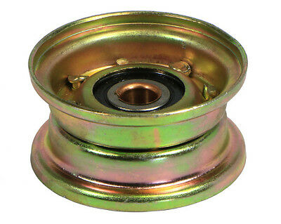 """Flat Type Idler Pulley,  4"""" OD 1/2"""" Bore - RanchEx"""