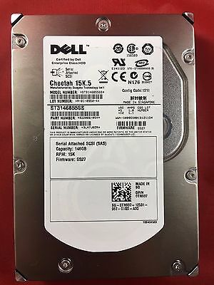 UP932 Dell Enterprise Class 36GB 15K 2.5 SAS 3Gbps Hard Drive Seagate ST936751SS