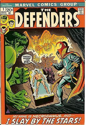 Defenders #1,2,3,4,5,6,7,8,9,10,11-152  FINE-NM  1972  152 issue complete run