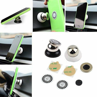 Universal Magnetic 360 Degree Mobile Phone Car Dash Holder Stand Mount