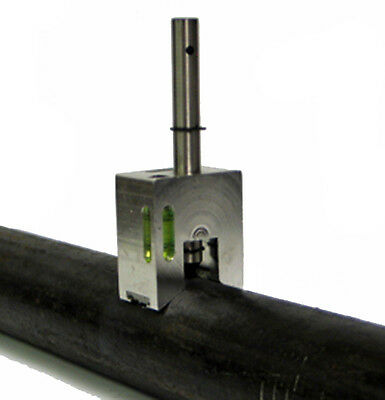 On Center Pipe Centering Punch - For Drilling Holes In Steel Pipe or Plastic Pip