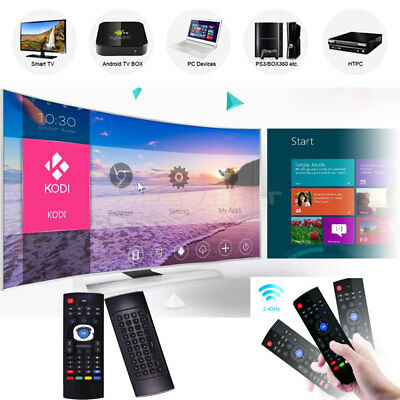 MX3 2.4GHz Wireless Keyboard Touchpad Remote Control for Android TV Box PC