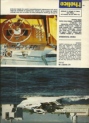 Windy 30 / 1973 Essai Article Presse Reportage Magazine