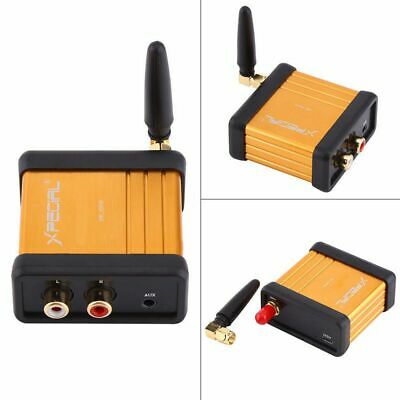 Bluetooth4.2 Wireless Audio Adapter Receiver Stereo 3.5mm RCA Music HIFI For Car