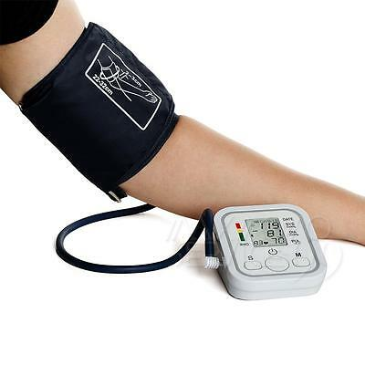 US Digital Automatic Blood Pressure Upper Arm Intellisense Monitor Memory US