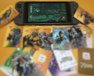NFC Cards Wolf Link 20 hearts 6 Sets of 18/Total of 108 game card Switch / Wii U