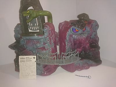 Masters of the Universe SNAKE MOUNTAIN W/ INSTRUCTIONS 99% COMPLETE MATTEL  MOTU