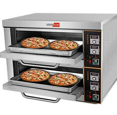 220V/6KW Commercial Electric Baking Oven Professional Pizza Cake Bread Oven a