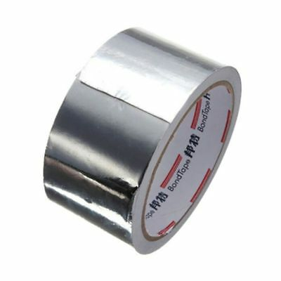 Self Adhesive Aluminium Foil Tape Silver Electric Heat Reflector Pipe Repair