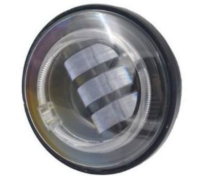 "P/Lamps; 4-1/2"" w/Halo 30w LED Blk(pair) (pair)"