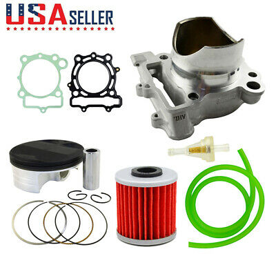 Standard Bore 77mm Cylinder Piston Gaskets Oil Pipe Filter for KX250F 2009~2016
