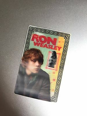 Harry Potter Ron Weasley 3D Wizard Card Collectible