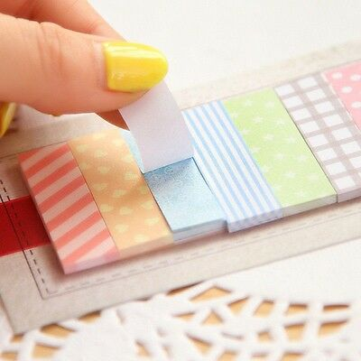 160 Pages Nice Sticker Bookmark Marker Memo Notepad Sticky Note Lot