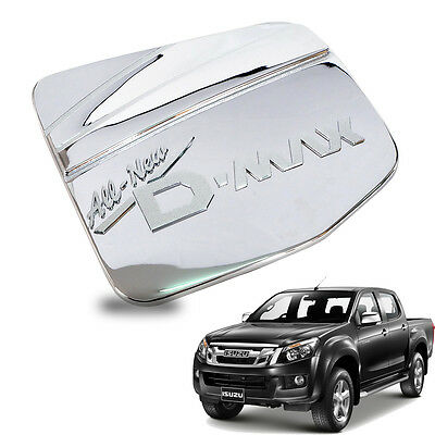 For 12+  ISUZU Dmax D-max Rodeo 4WD UTE Fuel Tank Cap Cover Trim Chrome