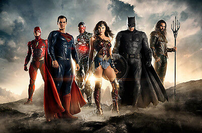 Posters USA FIL038 DC Justice League Batman Movie Poster Glossy Finish