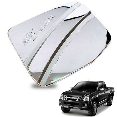For 12+ ISUZU Dmax D-max Fuel Oil Tank Cap Cover Trim Chrome ABS 2WD