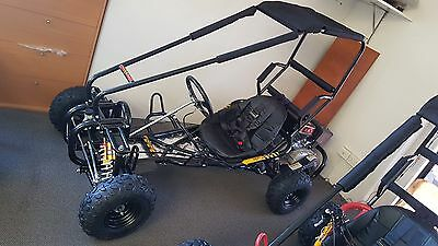 GOKART, OFF ROAD 9HP, MODEL V4,  SUSPENSION , 270CC .pick up price $1600 boxed.